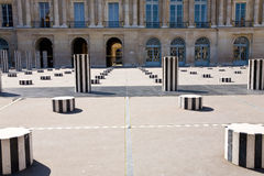 Colunas de Buren, Paris Imagem de Stock Royalty Free