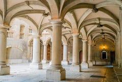 Colunas de Chancellerie em Genebra Imagem de Stock