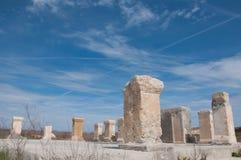 Colunas de Histria Fotos de Stock