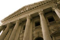 Colunas de justiça Imagem de Stock Royalty Free