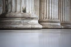 Colunas de mármore Imagens de Stock
