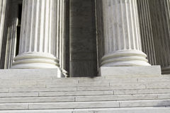Colunas de mármore Imagens de Stock Royalty Free