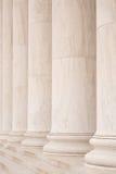 Colunas de mármore Fotografia de Stock
