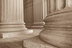 Colunas de Neoclasical Fotografia de Stock