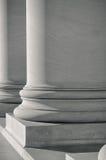 Colunas de pedra da fundação Fotografia de Stock Royalty Free