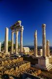 Colunas de Pergamon fotos de stock royalty free