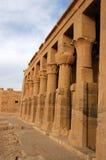Colunas de Philae fotos de stock