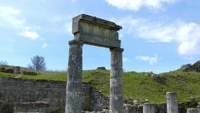 Colunas do Pantikapaeum vídeos de arquivo