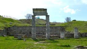 Colunas do Pantikapaeum video estoque