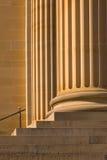 Colunas do Sandstone imagens de stock