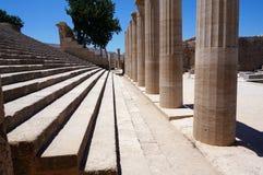 Colunas do templo Foto de Stock