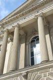 Colunas do tribunal Fotografia de Stock