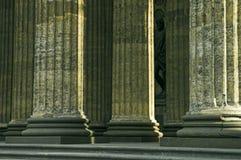 Colunas e escultura Foto de Stock Royalty Free