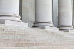 Colunas e etapas Imagens de Stock