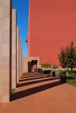 Colunas e sombras Fotografia de Stock Royalty Free