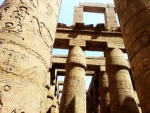 Colunas egípcias antigas Imagens de Stock