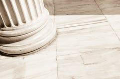 Colunas em Atenas, Grécia Fotografia de Stock Royalty Free