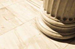 Colunas em Atenas, Grécia Foto de Stock Royalty Free