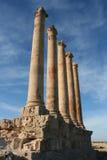 Colunas em Sabratha Líbia Fotos de Stock Royalty Free