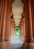 Colunas Fluted Imagens de Stock