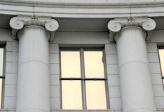 Colunas históricas de Denver Foto de Stock Royalty Free