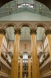Colunas interiores foto de stock royalty free