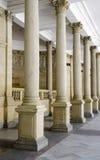 Colunas na colunata imagens de stock royalty free