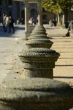 Colunas na fileira Imagem de Stock