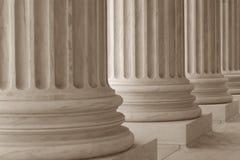 Colunas Neoclassical Imagem de Stock