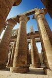 Colunas no complexo do templo de Karnak Foto de Stock