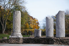 Colunas romanas Foto de Stock