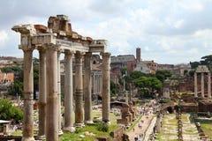 Colunas romanas Fotografia de Stock