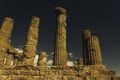 Colunas temperamentais Fotografia de Stock