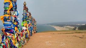 Colunas tradicionais legendárias em um lugar sagrado - faça um desejo foto de stock royalty free