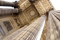 Colunas velhas em Paris Foto de Stock