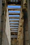 Colunata em Grécia Imagens de Stock Royalty Free