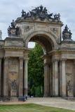 Colunata nova Potsdam dos communs do palácio Imagem de Stock
