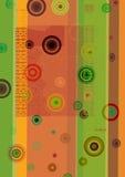 Coluorful Kreise Lizenzfreie Stockbilder