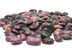 Colures beans on whit Stock Images