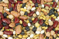 Colurful Beans. Close up from Colorful Beans as Background royalty free stock images