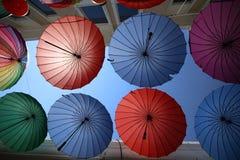 Colurful parasol Zdjęcia Stock