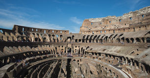 Colussium i Rome royaltyfri foto