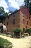 Colvin Run Grist Mill, Fairfax, VA stock images