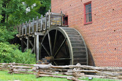 Colvin Run Grist Mill Great Falls Virginia. Award winning gristmill restoration and Virginia landmark on National Register of Historic Places Royalty Free Stock Images