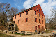 Colvin Run Gristmill Great Falls VA (DC Metro). Colvin Run Mill is a working 19th century water-powered gristmill and a Virgina (Washington DC Metro Area) Stock Photography