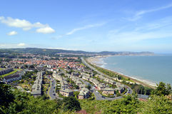 Colwyn Bay in North Wales Royalty Free Stock Image