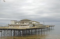 Colwyn Bay pier. Stock Images