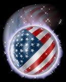Comète américaine de planète illustration libre de droits