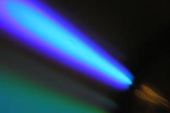 Comète bleue Photos libres de droits