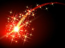 Comète de vol illustration de vecteur